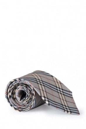 Burberry Smoked Manston Checked Tie