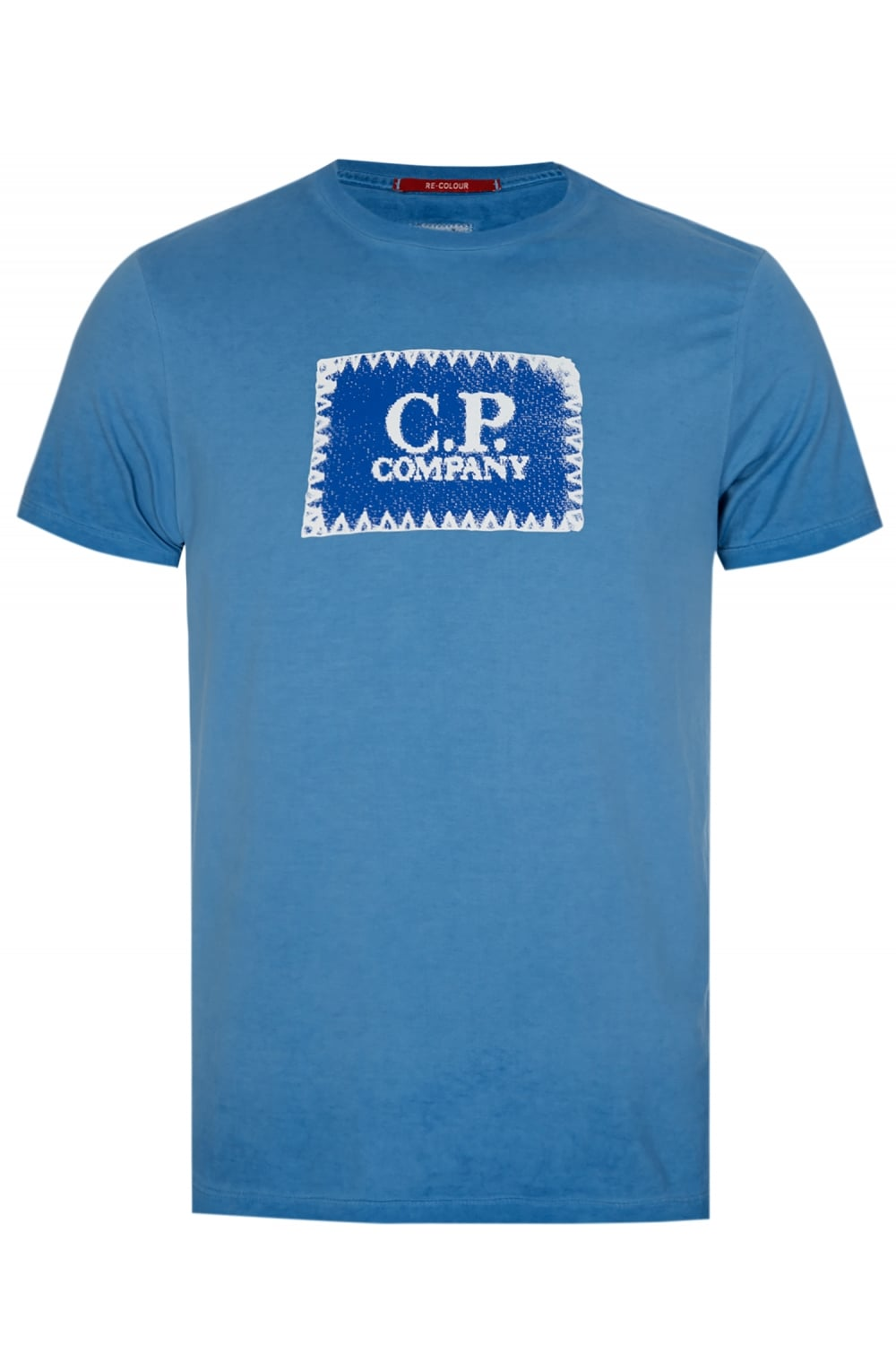 C p company box logo t shirt blue for T shirts for business logo