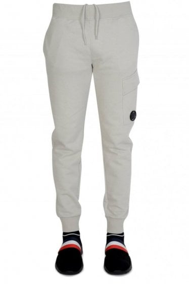 C.P Company Combination Item Goggle Joggers White