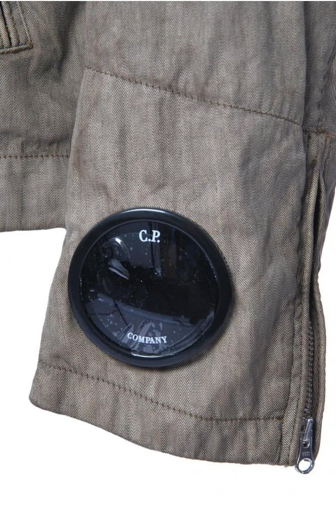 C.P Company Flax Mix Goggle Jacket