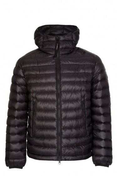 C.P Company Hooded Down Jacket Black