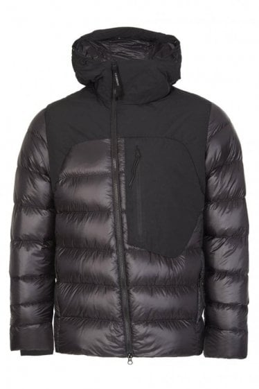 C.P Company Hooded Goggle Down Jacket Black