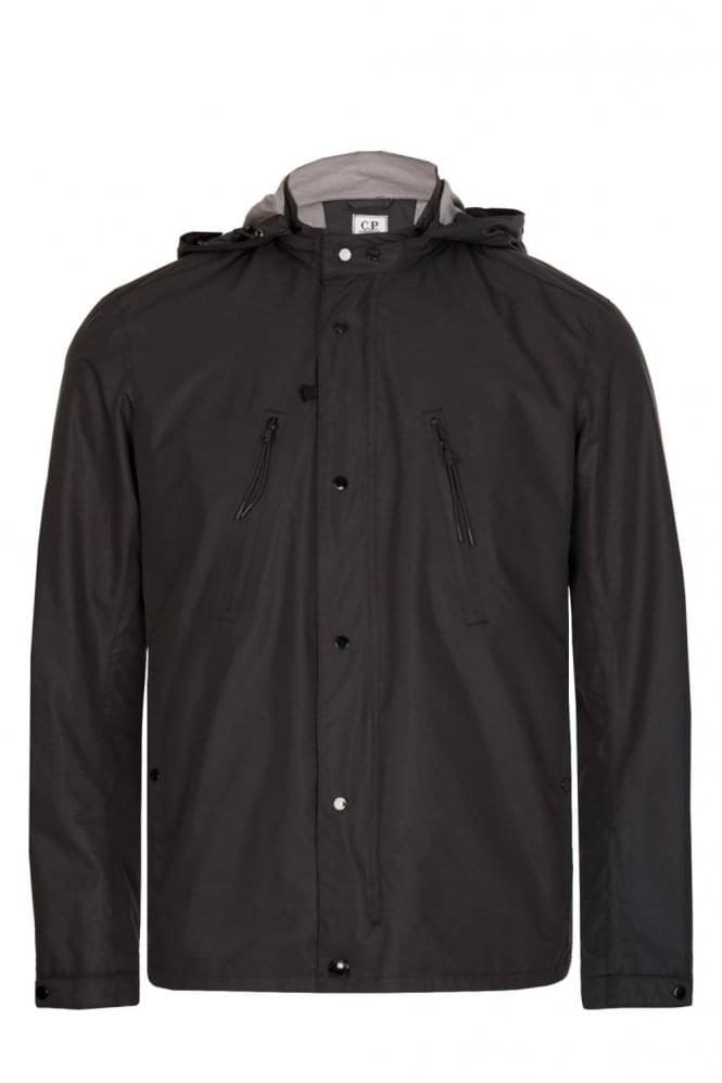 CP COMPANY C.P Company Lightweight Hooded Jacket Black