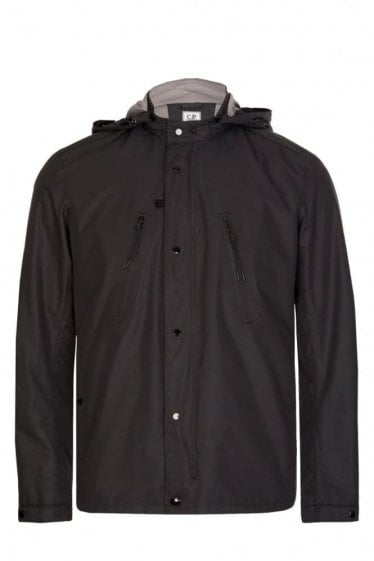 C.P Company Lightweight Hooded Jacket Black