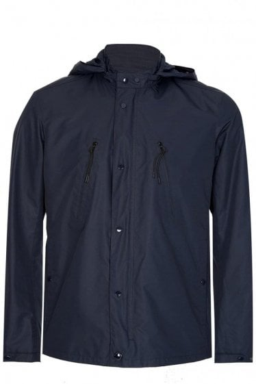 C.P Company Lightweight Hooded Jacket Navy