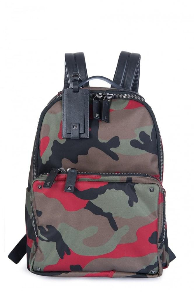 VALENTINO CAMO BACKPACK