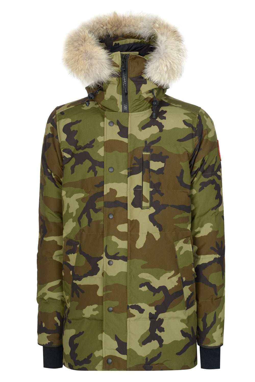 6fd943c7533 CANADA GOOSE Canada Goose Carson Parka Camo Coat - Clothing from ...
