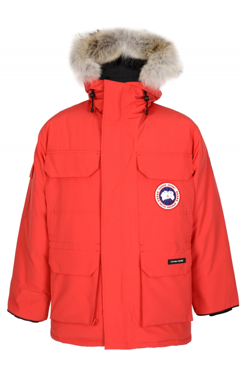 22054e22a Expedition Fusion Fit Parka Red