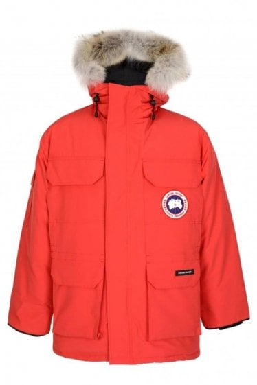 Canada Goose Expedition Fusion Fit Parka Red