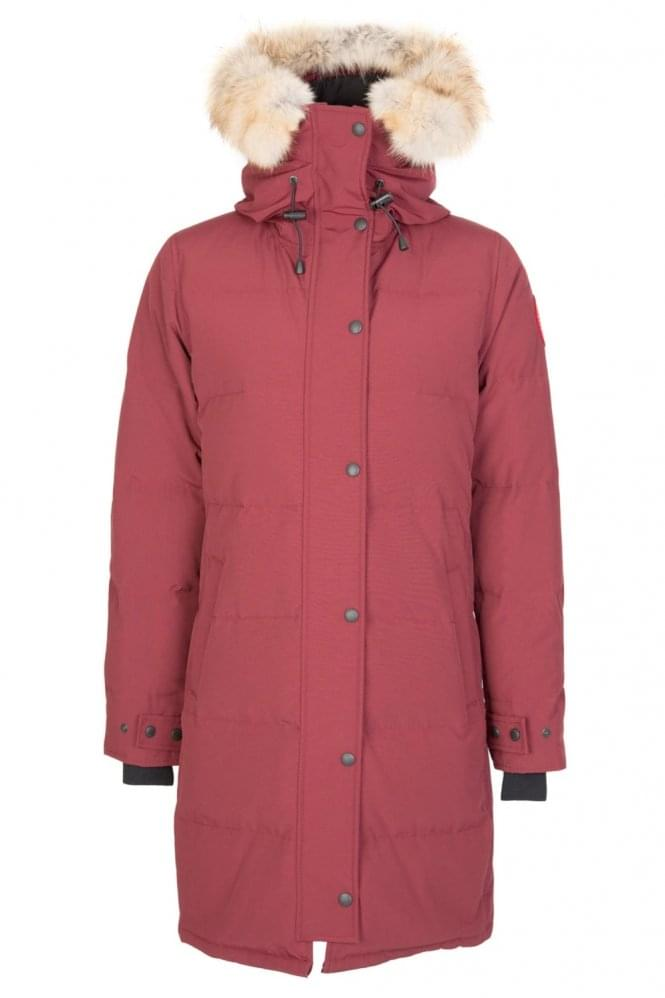 CANADA GOOSE Ladies Shelburn Parka Burgundy