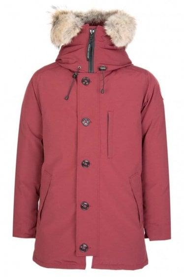 Canada Goose Mens Chateau Jacket Burgundy
