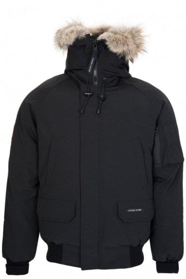 Canada Goose Men's Chilliwack Bomber Jacket Black