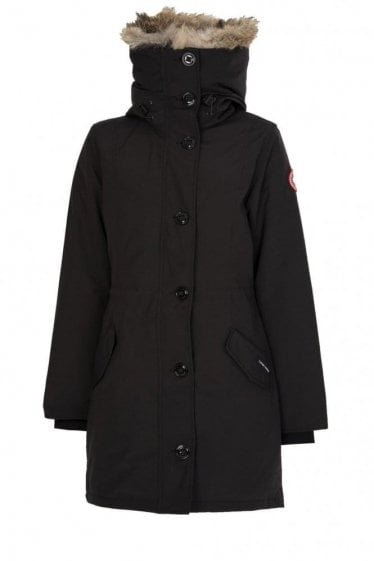 Canada Goose Womens Rossclair Parka Black