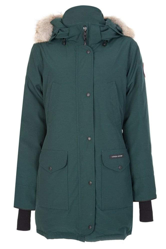 Canada Goose Womens Trillium Parka Forest Green
