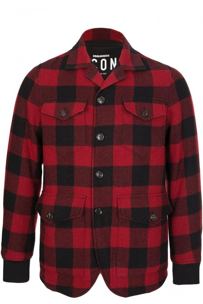 DSQUARED CANADIAN CHECK