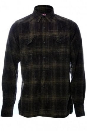 CHECKED FLANNEL WESTERN