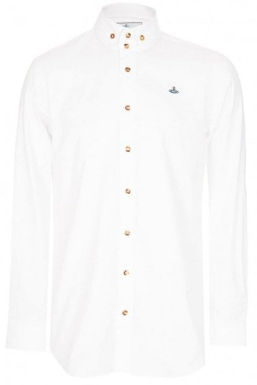 Vivienne Westwood Classic Oxford Shirt White