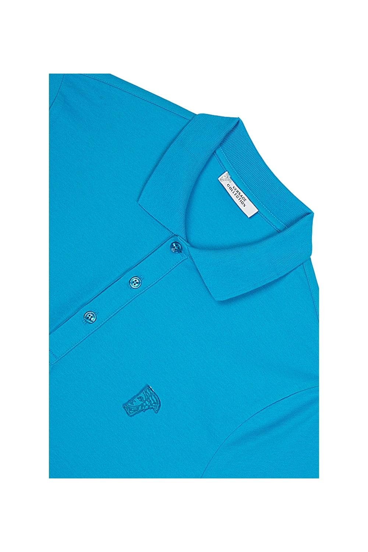 Blue Versace Polo