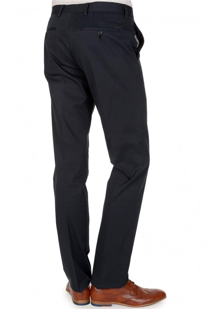 PAUL SMITH London Woven Navy Trousers