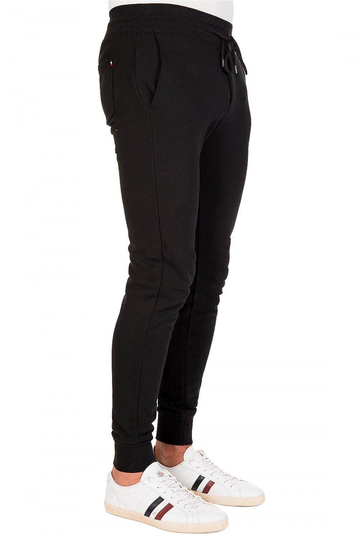 fed92979221a MONCLER Moncler Tab Logo Joggers Black - Clothing from Circle Fashion UK
