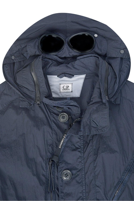 d5781b404 C.P Company Millie Miglia Nylon Dyed Goggle Jacket Navy