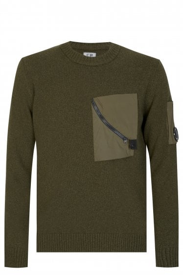 CP Company Patch Pocket Sweatshirt