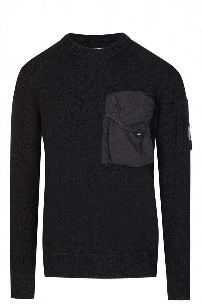 CP Company Technical Pocket Knitted Jumper