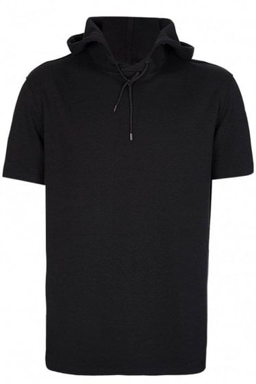 Hugo Boss Short Sleeved Hooded Sweatshirt