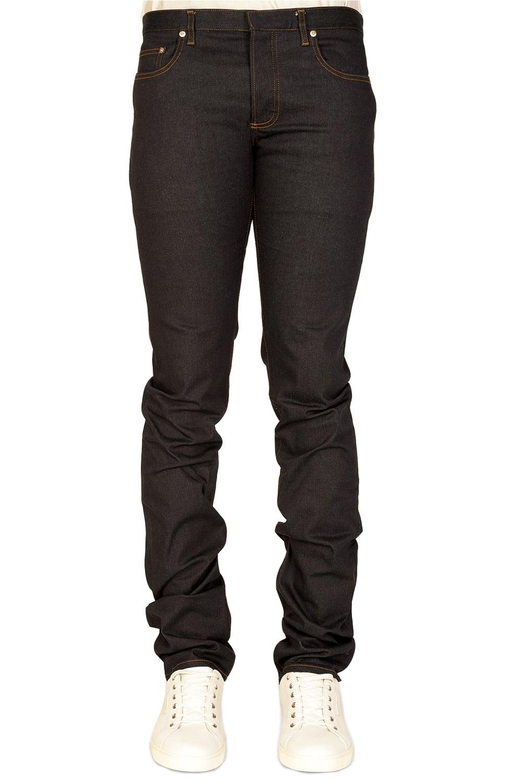 dior dark rinse 5 pocket jeans navy. Black Bedroom Furniture Sets. Home Design Ideas