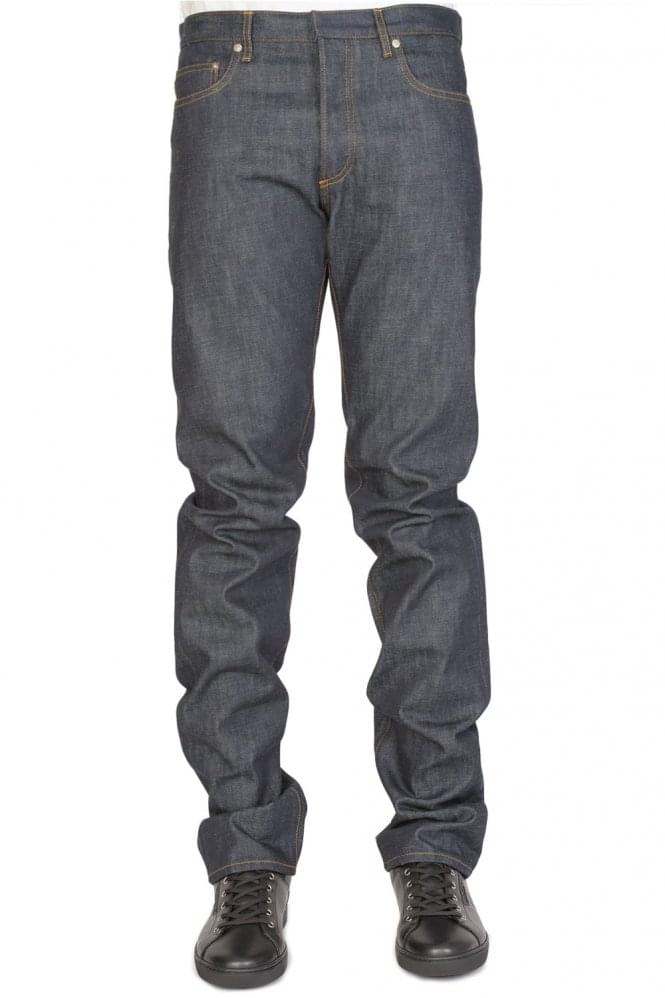 DIOR HOMME Dior Selvedge Denim 5 Pocket Jeans Blue