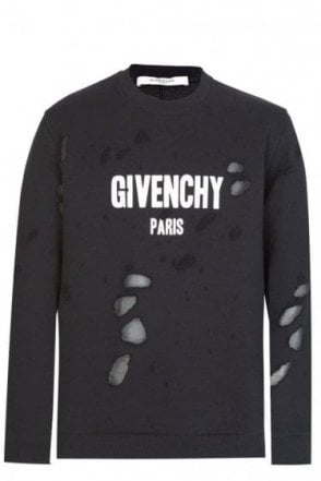 DISTRESSED GIVENCHY SWEAT