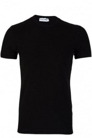 Dolce and Gabbana Stretch Cotton T-Shirt