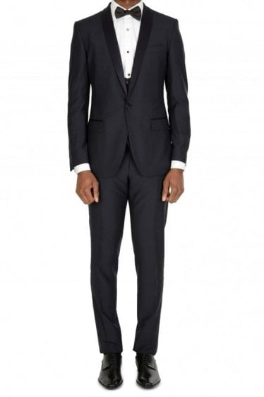 Dolce & Gabbana 3-Piece Suit Navy