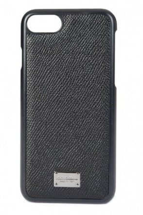 Dolce & Gabbana 7 IPhone Cover Black