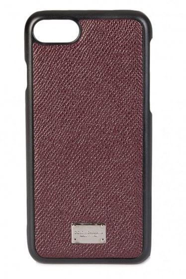 Dolce & Gabbana 7 IPhone Cover Burgundy