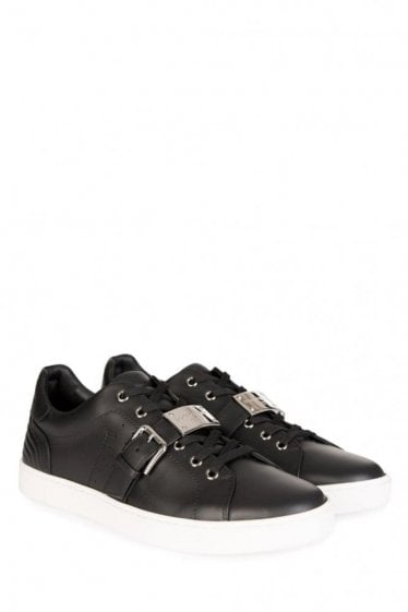 Dolce & Gabbana Buckle Sneakers Black