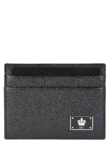 Dolce & Gabbana Card Holder Black