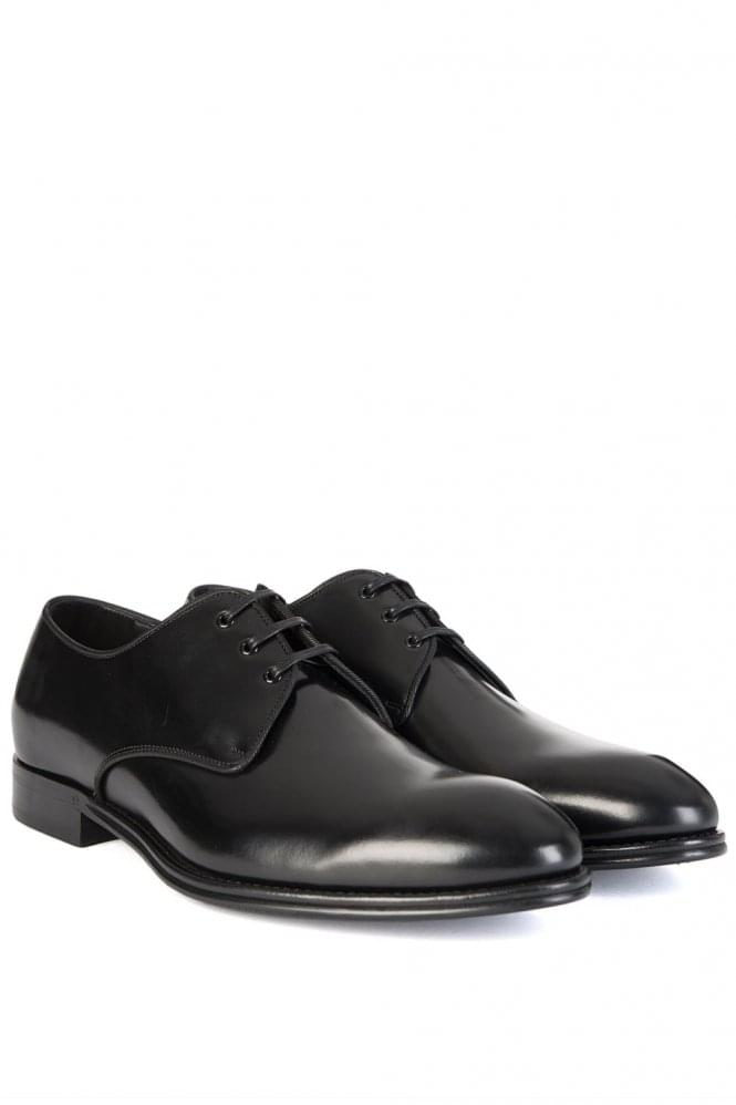 DOLCE & GABBANA Classic Leather Derby Black