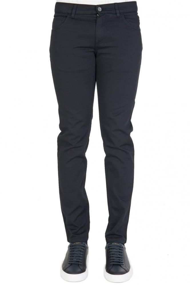 Dolce & Gabbana Dark Rinse Denim Jeans Black thumbnail