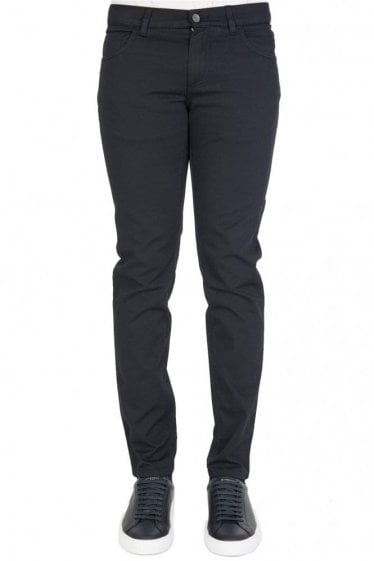 Dolce & Gabbana Dark Rinse Denim Jeans Black