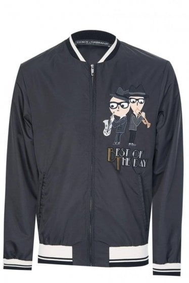 Dolce & Gabbana Designers Applique Jacket Black