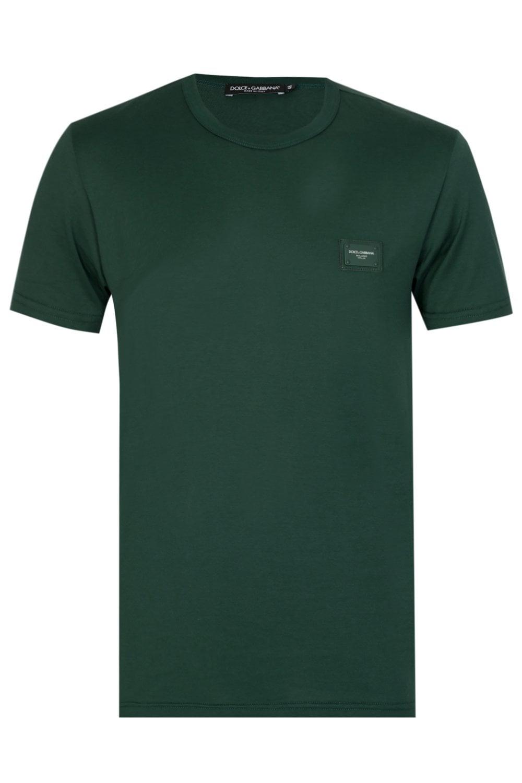 98464a72 DOLCE & GABBANA Dolce & Gabbana DG Logo T-shirt - Uncategorised from ...