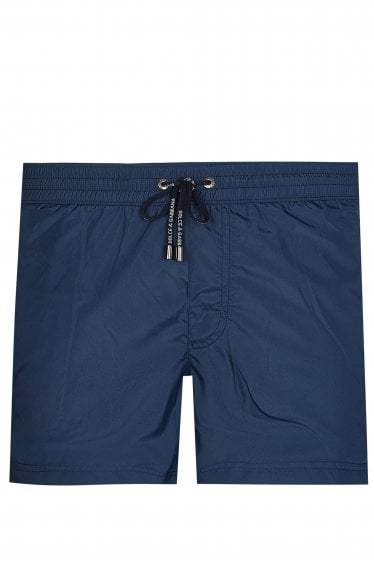 Dolce & Gabbana Drawstring Swim Shorts Blue