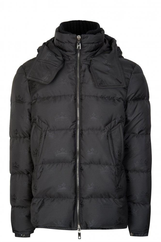 Dolce & Gabbana Jacquard Down Jacket