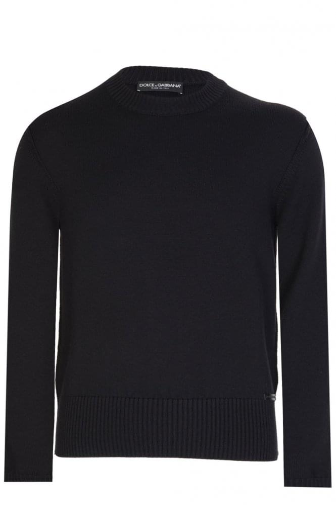 Dolce & Gabbana Knitted Jumper Black