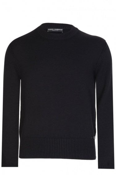 Dolce & Gabbana Knitted Jumper Black
