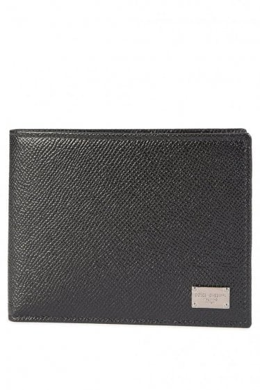 Dolce & Gabbana Leather Wallet Black