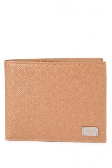 Dolce & Gabbana Leather Wallet Tan