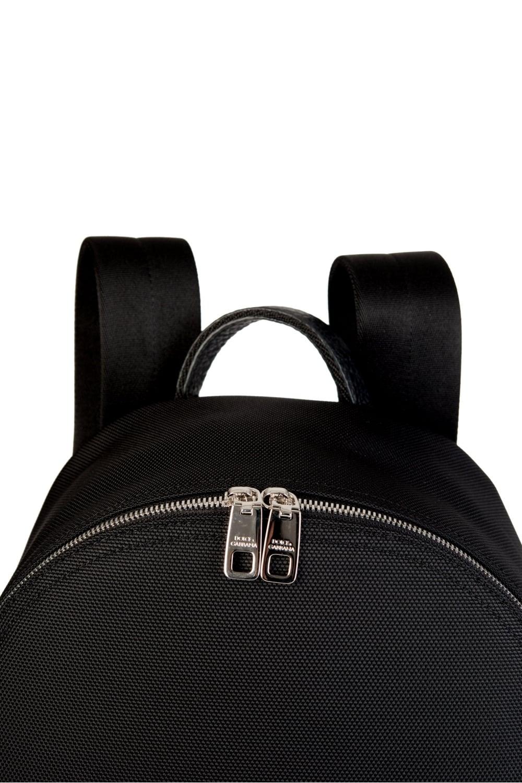 920ee4ab8faf Dolce   Gabbana Logo Plaque Backpack Black