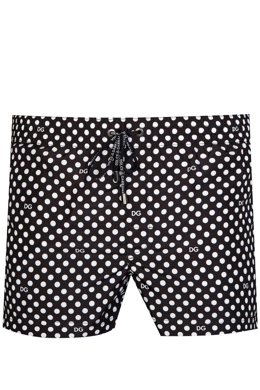 b417cf7ce4 DOLCE & GABBANA Dolce & Gabbana Logo Swim Shorts - Clothing from ...